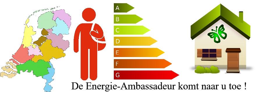 De Energie ambassadeur komt naat u toe